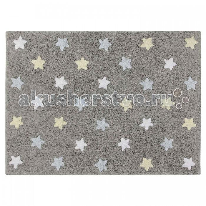 Детская мебель , Аксессуары для детской комнаты Lorena Canals Ковер Триколор Звезды Stars Tricolor 120х160 арт: 302499 -  Аксессуары для детской комнаты
