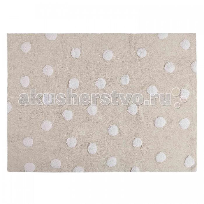 Детские ковры Lorena Canals Ковер В горошек Polka Dots 120х160 кислотные красители в алматы