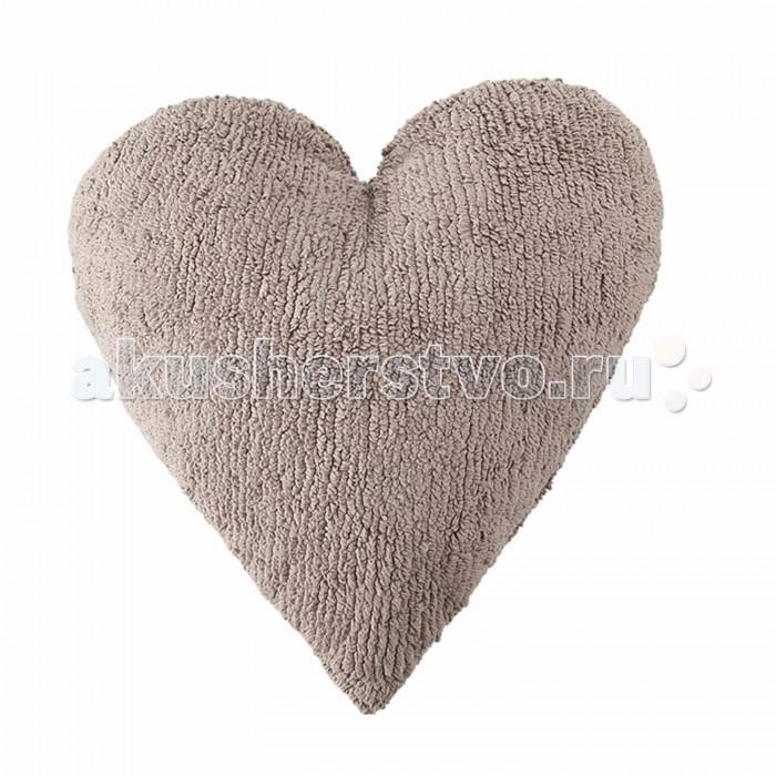 Постельные принадлежности , Подушки для малыша Lorena Canals Подушка Сердце Heart 50х45 арт: 303234 -  Подушки для малыша