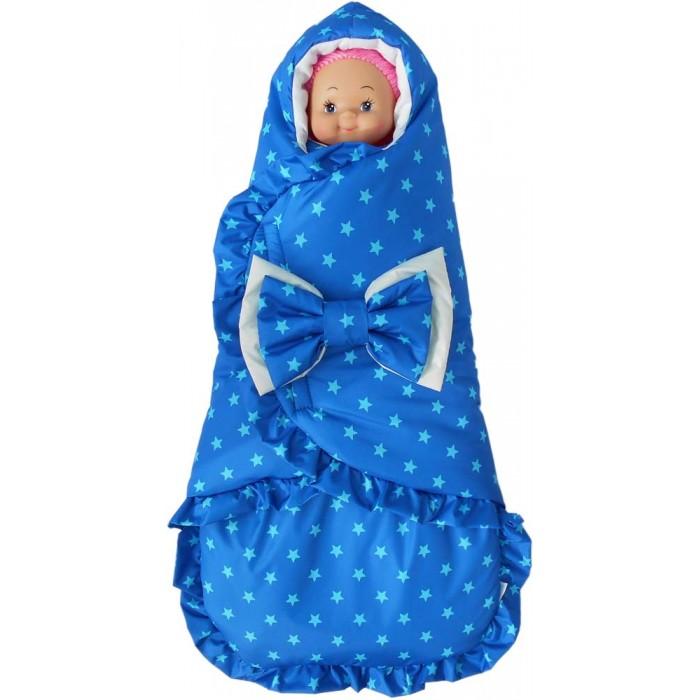 Детская одежда , Конверты на выписку LovelyCare Конверт-кокон Звездное небо арт: 359854 -  Конверты на выписку