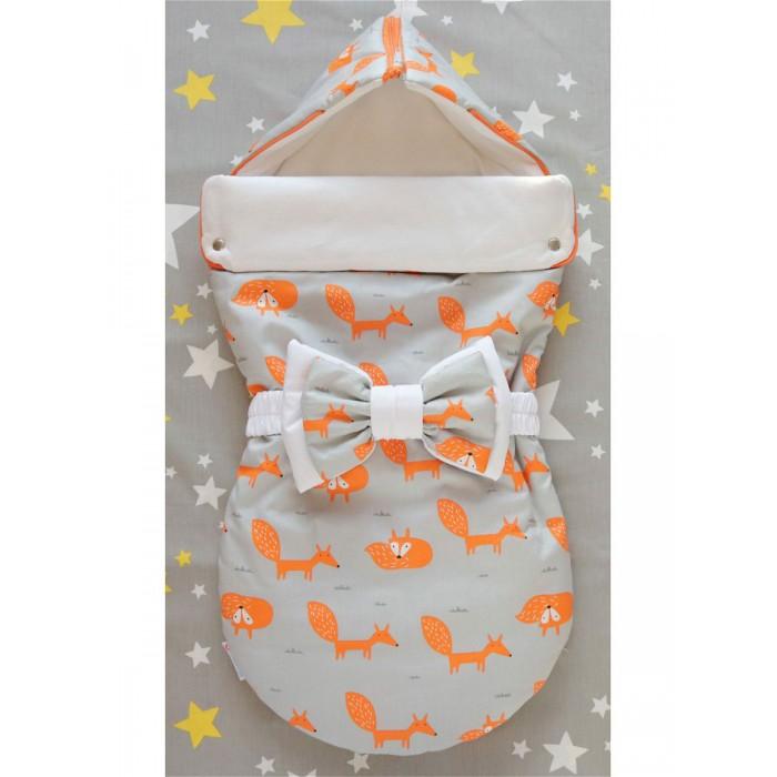 Детская одежда , Конверты на выписку LovelyCare Конверт на выписку Лисы (лето) арт: 533126 -  Конверты на выписку