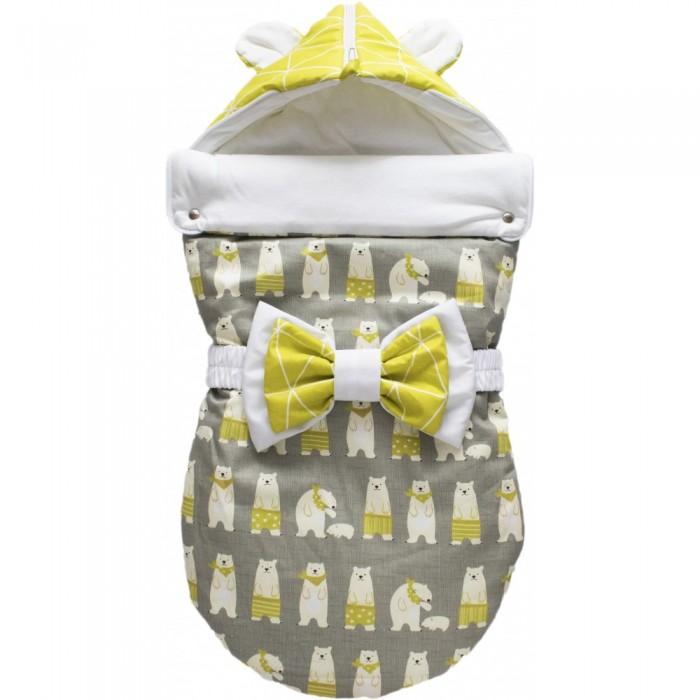 Детская одежда , Конверты на выписку LovelyCare Конверт на выписку Медведи(лето) с ушками арт: 534631 -  Конверты на выписку