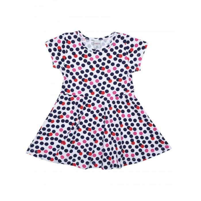 Lovetti Платье для девочки LV5910-74