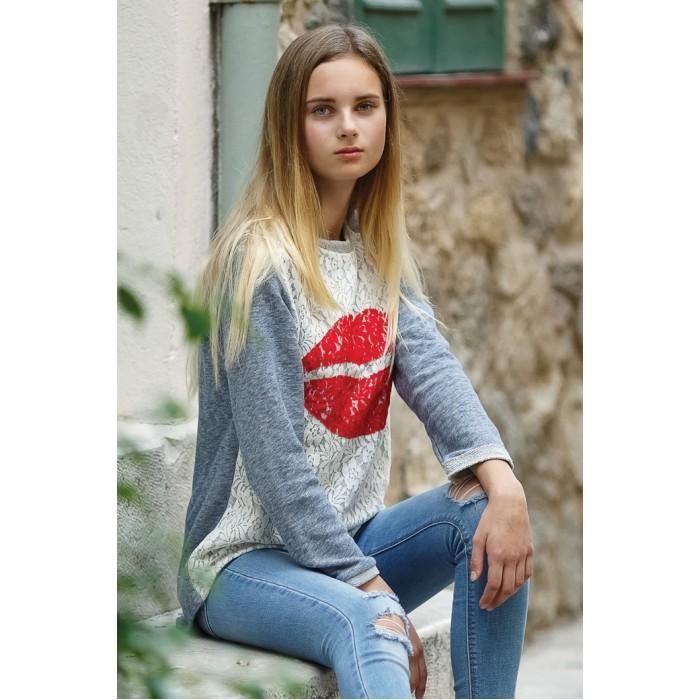 Водолазки и лонгсливы LP Collection Джемпер для девочки 110-0002