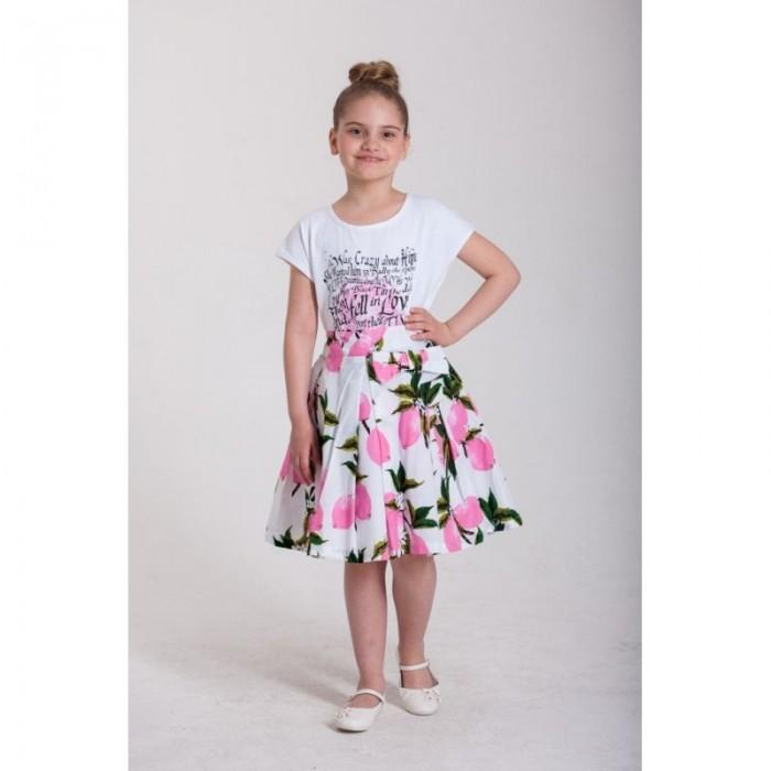 Юбки LP Collection Комплект для девочки (футболка и юбка) 28-1696