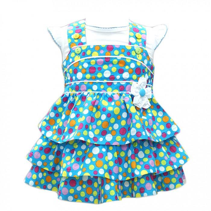 Комплекты детской одежды LP Collection Комплект для девочки (Кофта и сарафан) 14-2848