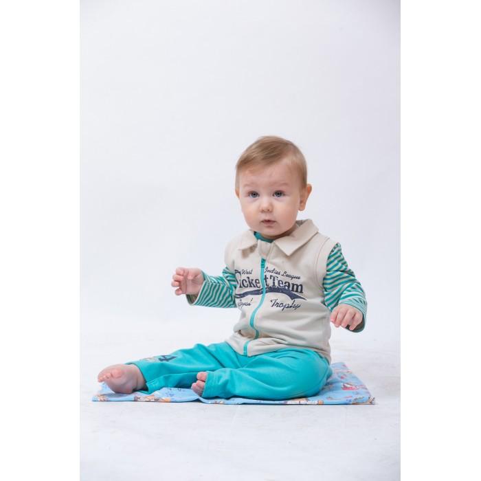 Купить Комплекты детской одежды, LP Collection Комплект для мальчика (жилет, кофта и штаны) 14-2776