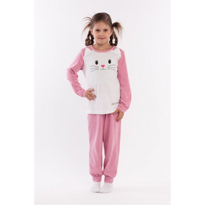 Детская одежда , Пижамы и ночные сорочки LP Collection Пижама для девочки 26-1782 арт: 416144 -  Пижамы и ночные сорочки