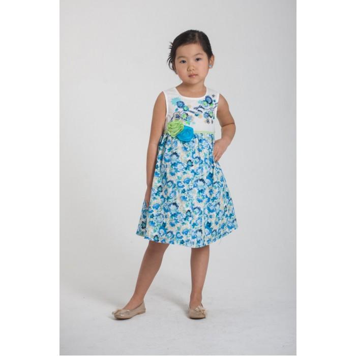 Детская одежда , Детские платья и сарафаны LP Collection Платье короткий рукав 3-1453 арт: 529976 -  Детские платья и сарафаны