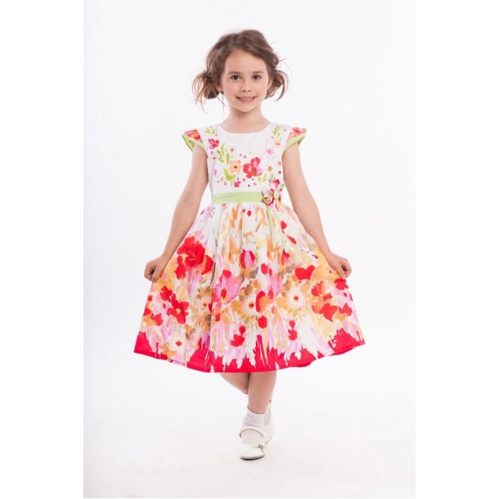 Детская одежда , Детские платья и сарафаны LP Collection Платье короткий рукав 3-1580 арт: 530056 -  Детские платья и сарафаны