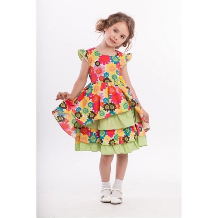 Детская одежда , Детские платья и сарафаны LP Collection Платье короткий рукав 3-1581 арт: 530066 -  Детские платья и сарафаны