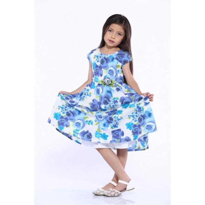 Детская одежда , Детские платья и сарафаны LP Collection Платье короткий рукав 3-1587 арт: 530091 -  Детские платья и сарафаны