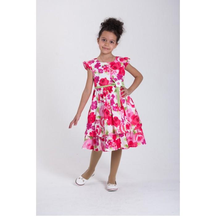Детская одежда , Детские платья и сарафаны LP Collection Платье короткий рукав 3-1588 арт: 530116 -  Детские платья и сарафаны