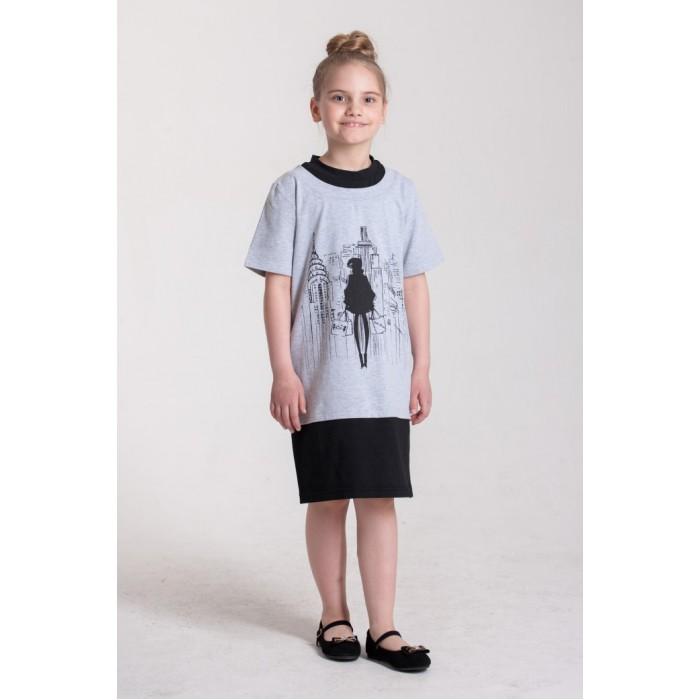 Детская одежда , Детские платья и сарафаны LP Collection Платье короткий рукав 3-1702 арт: 530661 -  Детские платья и сарафаны