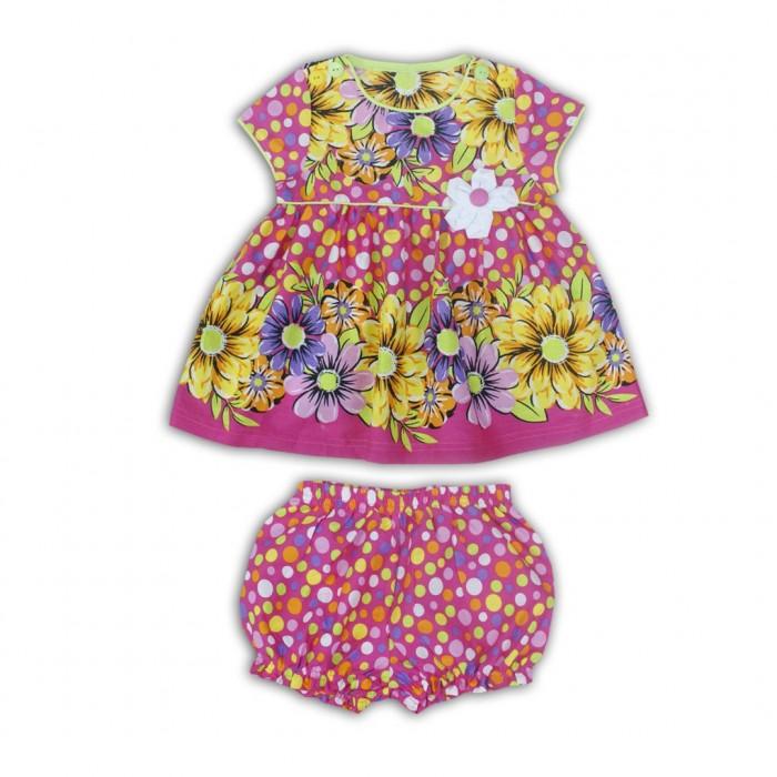 Комплекты детской одежды LP Collection Комплект (платье, трусики) 14-2842 комплекты детской одежды клякса комплект 5 предметов 53 5228