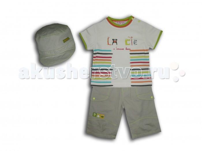 LP Collection Комплект (футболка, шорты, кепка) 23-1557