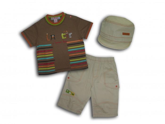Комплекты детской одежды LP Collection Комплект (футболка, шорты, кепка) 23-1557 halal cosmetics скраб для тела mandarin 250 мл