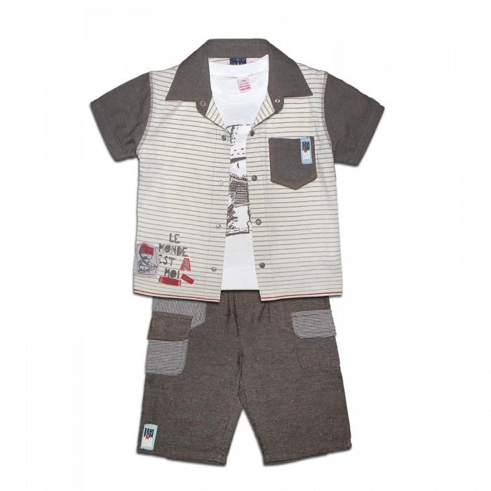 LP Collection Комплект (рубашка, футболка, шорты) 23-1560