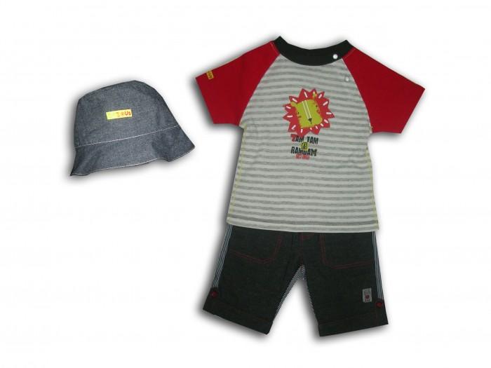 Купить Комплекты детской одежды, LP Collection Комплект (футболка, шорты, панама) 23-1562