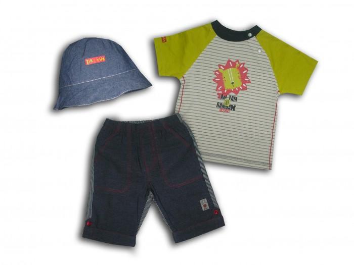 Комплекты детской одежды LP Collection Комплект (футболка, шорты, панама) 23-1562 комплекты детской одежды клякса комплект 5 предметов 53 5228