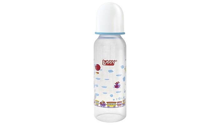 Бутылочки Lubby Малыши и малышки с силиконовой соской с 0 мес. 240 мл бутылочка lubby малыши и малышки полипропилен с 0 мес 150 мл белый