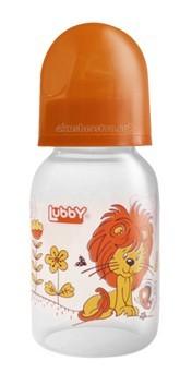 купить Бутылочки Lubby Веселые животные с латексной соской с 0 мес. 125 мл недорого