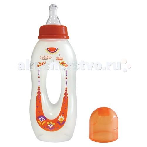 Бутылочки Lubby Бублик с силиконовой соской с 0 мес. 250 мл бутылочка для кормления medela 150 мл с соской от 0 до 3 мес