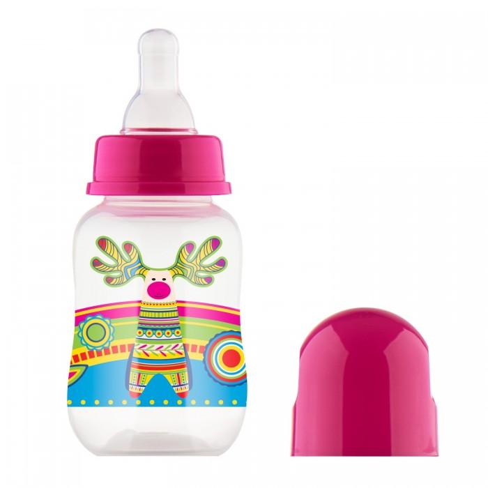 Бутылочки Lubby Русские мотивы с силиконовой соской с 0 мес. 120 мл бутылочка для кормления medela 150 мл с соской от 0 до 3 мес