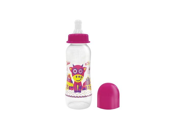 Бутылочки Lubby Русские мотивы с силиконовой соской с 0 мес. 240 мл