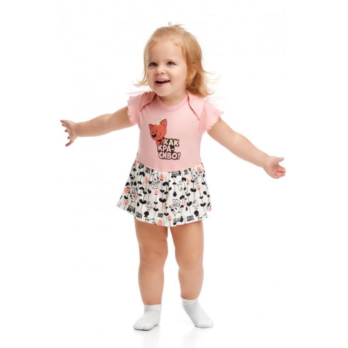 Купить Боди, песочники, комбинезоны, Lucky Child Боди детский Ми-Ми-Мишки 69-19