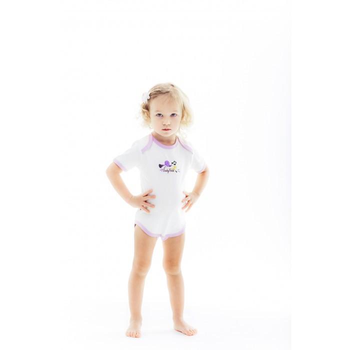 Боди и песочники Lucky Child Боди Веселые нотки А12-119 пижамы lucky child пижама