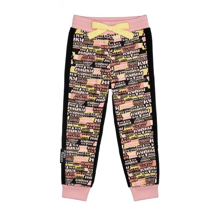 Купить Брюки и джинсы, Lucky Child Брюки детские Ми-Ми-Мишки 69-11пф/чёрн