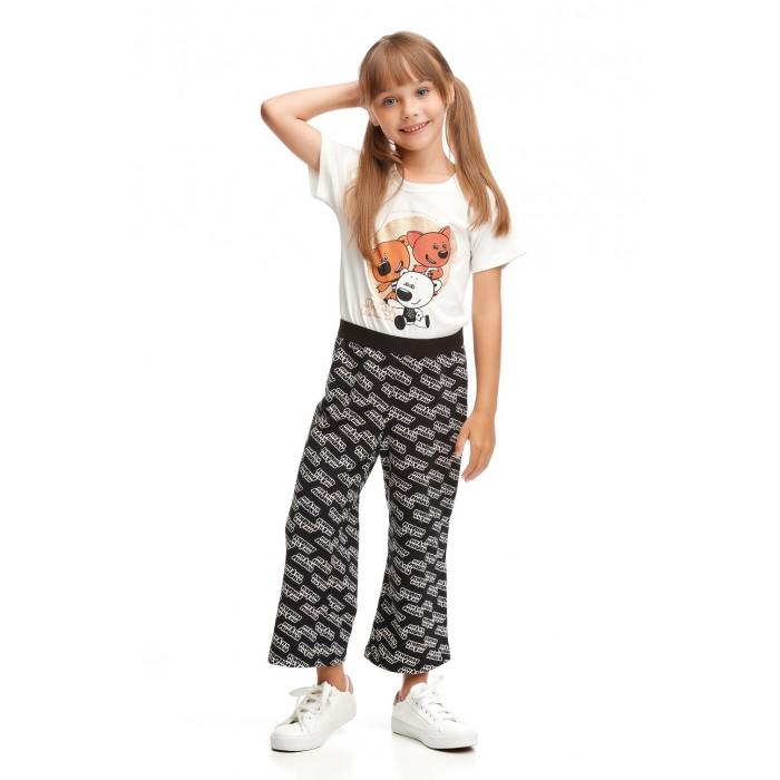 Брюки и джинсы Lucky Child Комбинезон для девочки Ми-Ми-Мишки Логотипы