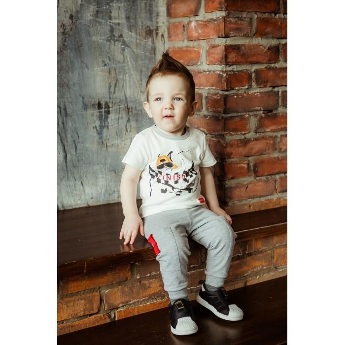 брюки  джинсы и штанишки Брюки и джинсы Lucky Child Брюки для мальчика Крутой парень 44-14пф