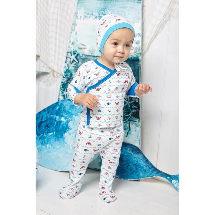 Шапочки и чепчики Lucky Child Чепчик Крабики А5-110 пижамы lucky child пижама