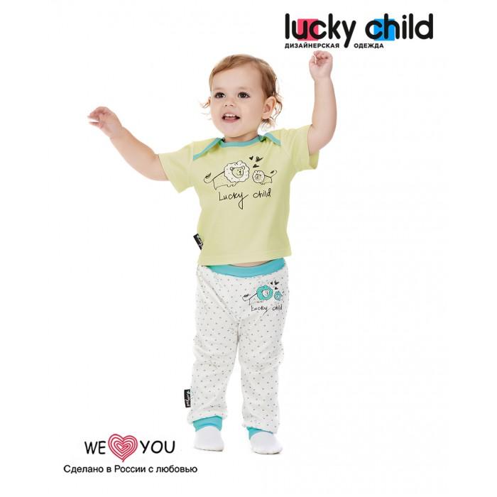 Lucky Child Футболка Зоопарк 30-128 3 шт. Футболка Зоопарк 30-128 3 шт.