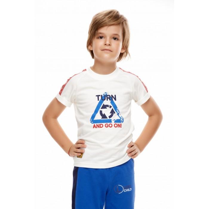 Футболки и топы Lucky Child Футболка детская Трафик 100-36к