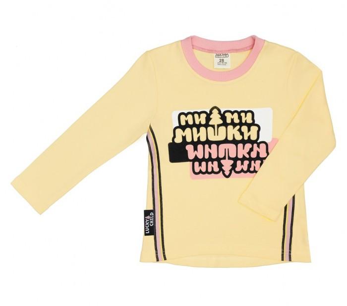 Lucky Child Футболка детская с длинным рукавом Ми-Ми-Мишки 69-12/жёлт