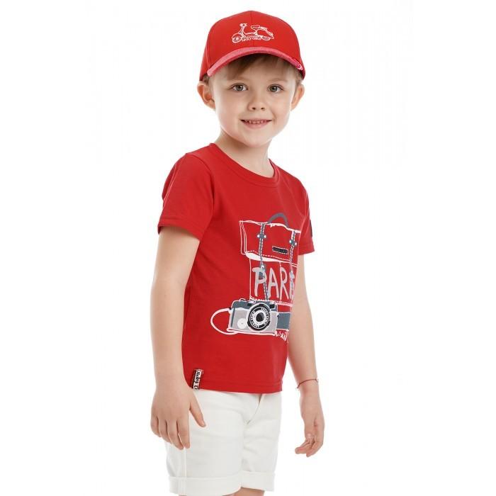 Футболки и топы Lucky Child Футболка для мальчика Лемур в Париже футболки и топы lucky child футболка для мальчика no risk no fun