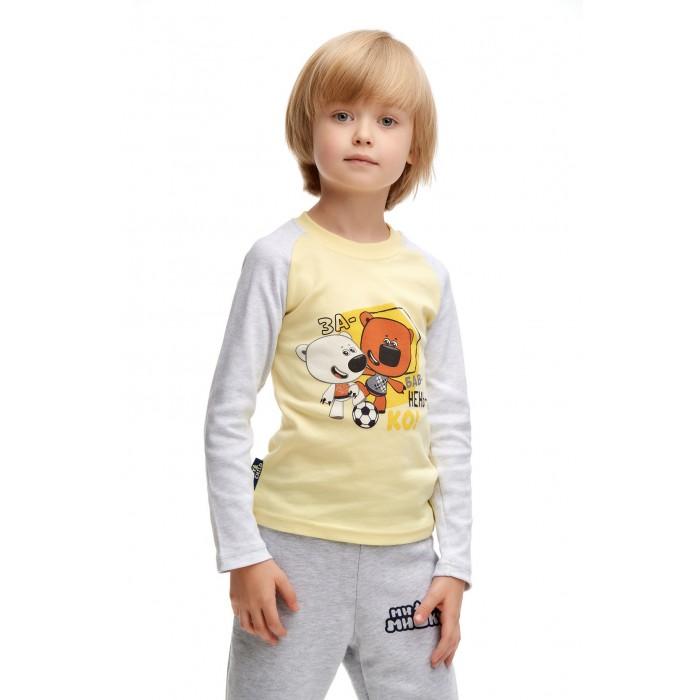 Фото - Водолазки и лонгсливы Lucky Child Футболка для мальчика Ми-Ми-Мишки футболка для мальчика lucky child ми ми мишки цветная 68 74
