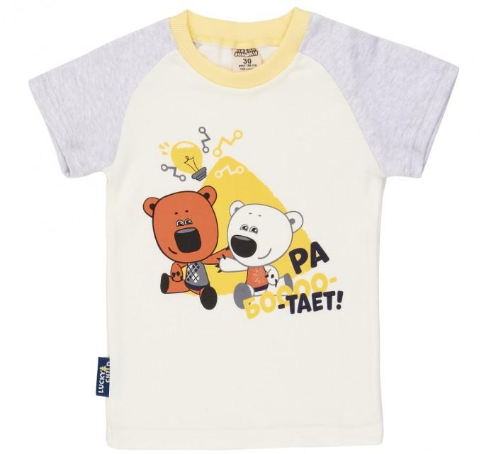 Фото - Футболки и топы Lucky Child Футболка для мальчиков Ми-Ми-Мишки 70-36 футболка для мальчика lucky child ми ми мишки цветная 68 74