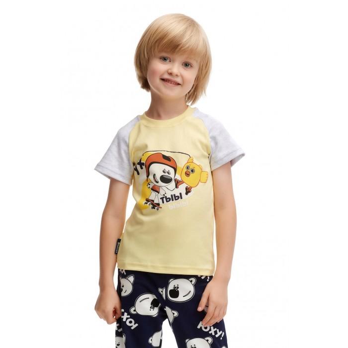 Фото - Футболки и топы Lucky Child Футболка для мальчиков Ми-Ми-Мишки футболка для мальчика lucky child ми ми мишки цветная 68 74
