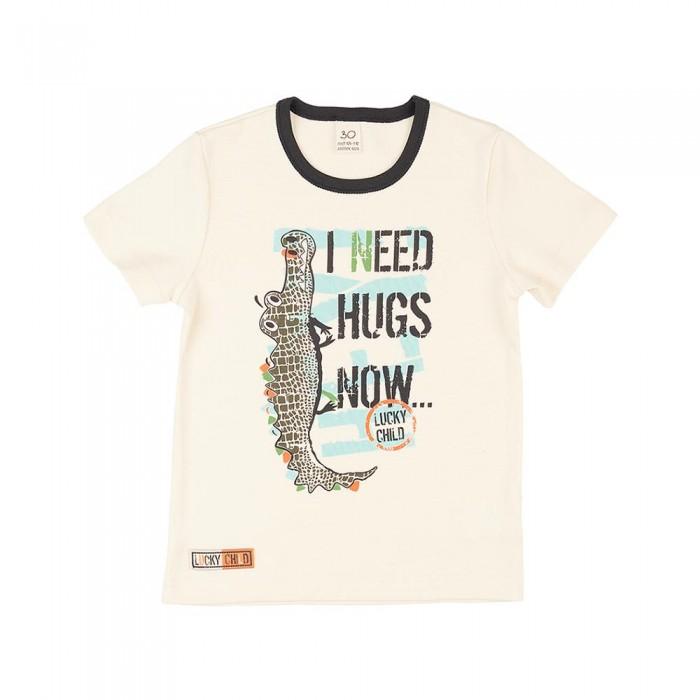 Lucky Child Футболка короткий рукав Крокодилы I need hugs now