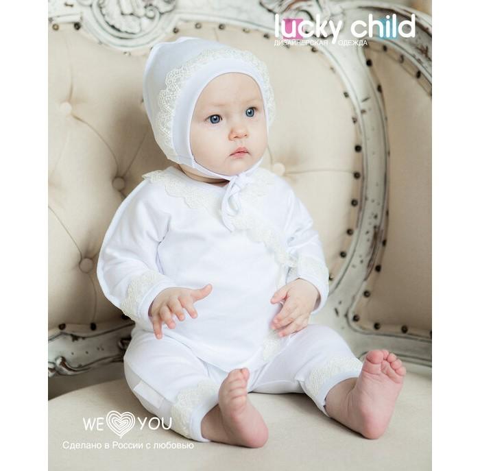 крестильная одежда Крестильная одежда Lucky Child Кофточка крестильная
