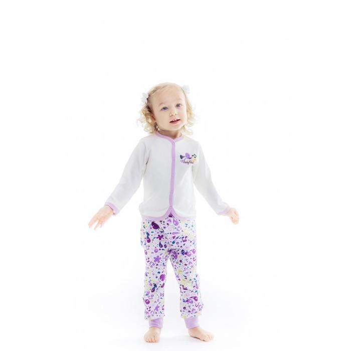 Распашонки и кофточки Lucky Child Кофточка Веселые нотки А12-120 пижамы lucky child пижама