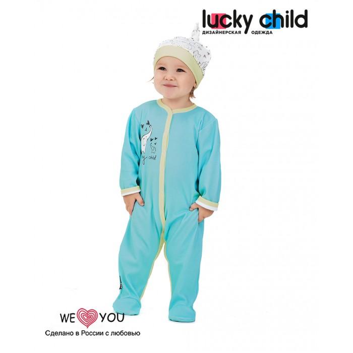 Купить Боди, песочники, комбинезоны, Lucky Child Комбинезон Зоопарк 30-121-1 2 шт.