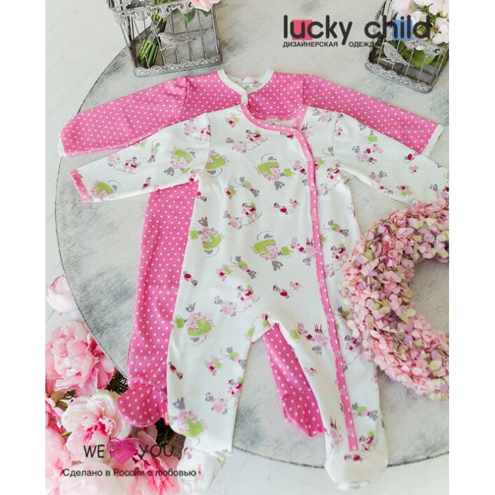 Lucky Child Комбинезон для девочки Маленькая садовница 2 шт. 30-211-1