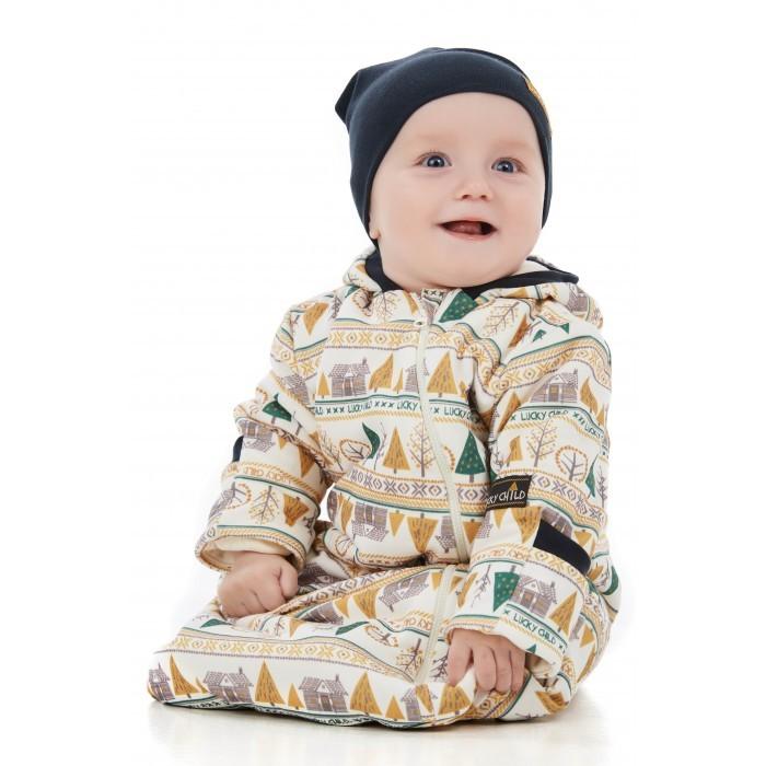 Lucky Child Комбинезон для мальчиков Зимние каникулы 63-25ф