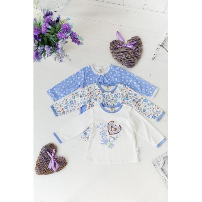 Детская одежда , Распашонки и кофточки Lucky Child Комплект детский Кофточка 3 шт. Лаванда 30-186 арт: 456381 -  Распашонки и кофточки