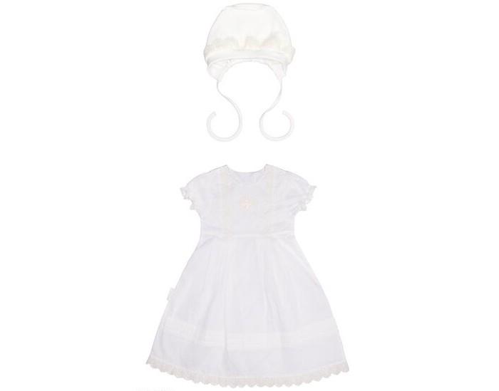 Lucky Child Комплект для девочки (крестильная рубашка, чепчик) Комплект для девочки (крестильная рубашка, чепчик)
